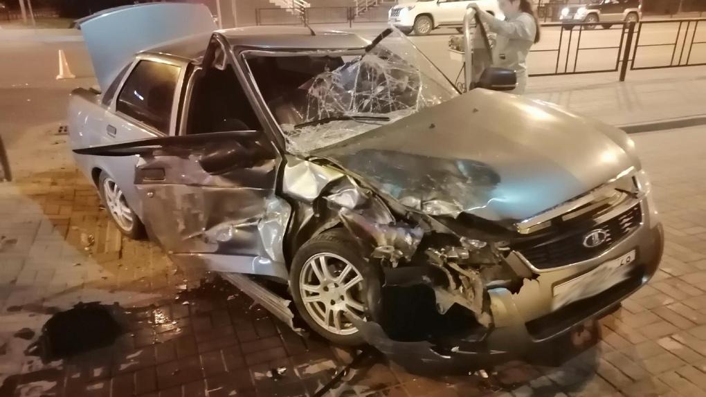 В Тамбове на улице Советской столкнулись два автомобиля