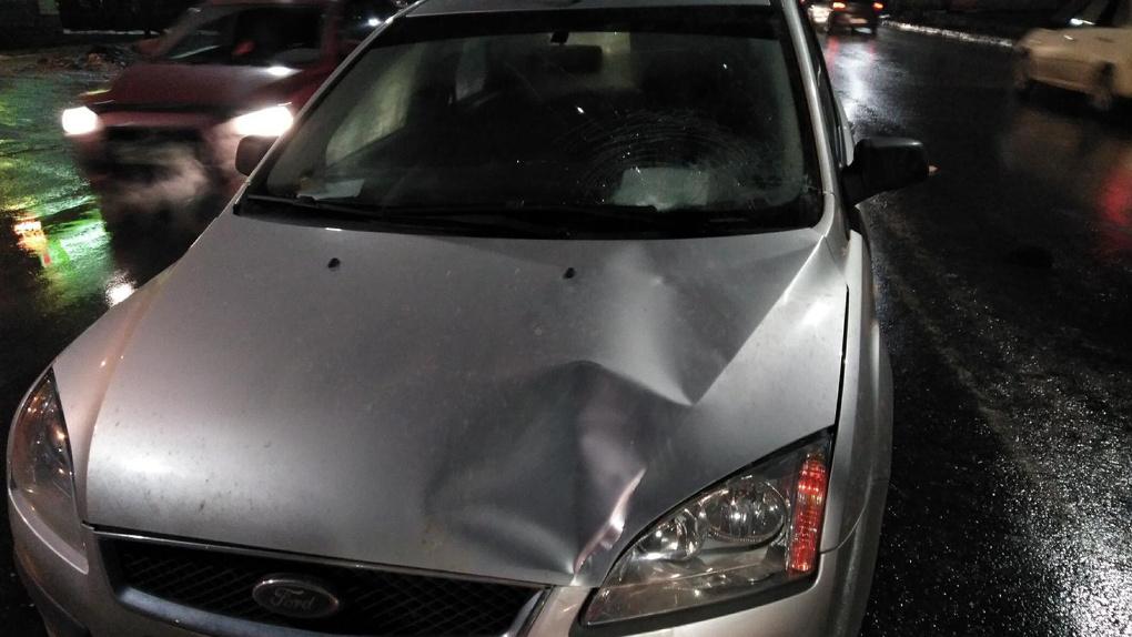 В Мичуринске водитель иномарки сбил двух пенсионеров