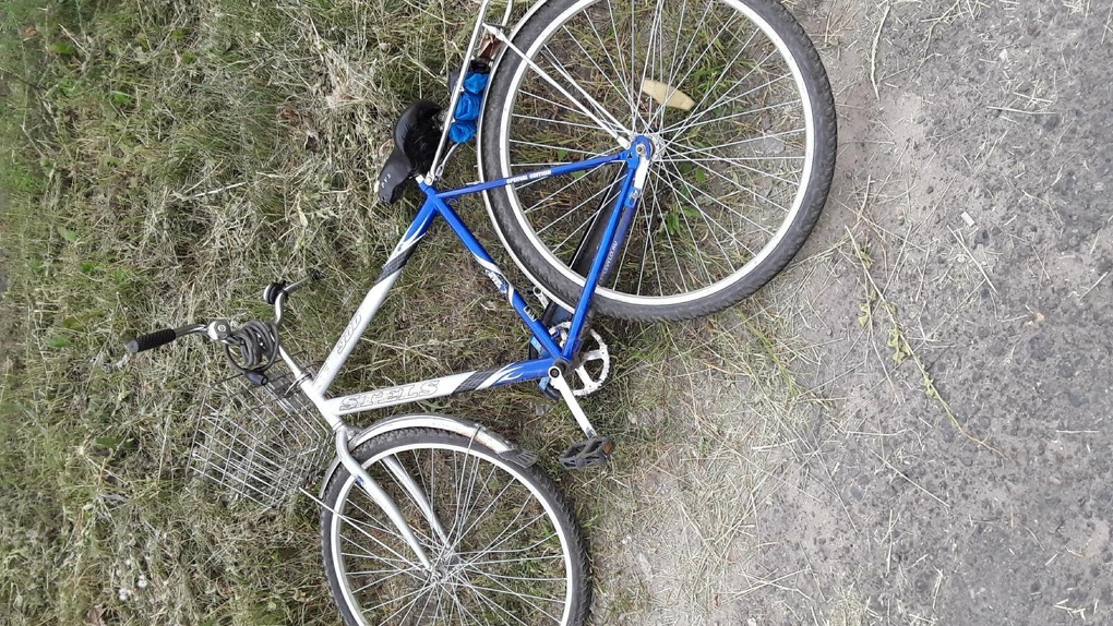 На севере Тамбова седан сбил велосипедистку