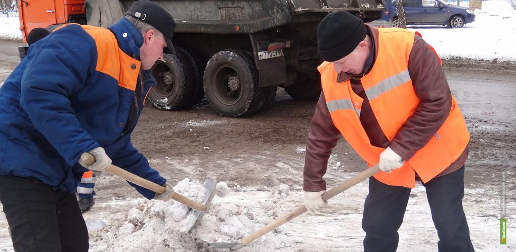 Городские службы готовы к предстоящему снегопаду
