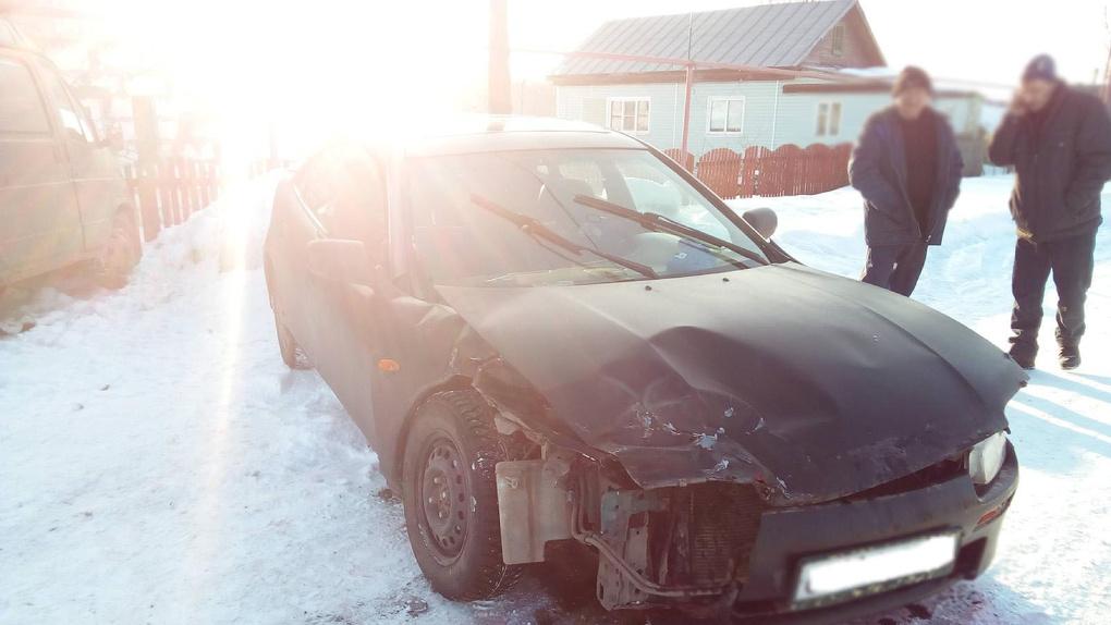 В Староюрьевском районе легковушка врезалась в припаркованную «ГАЗель»