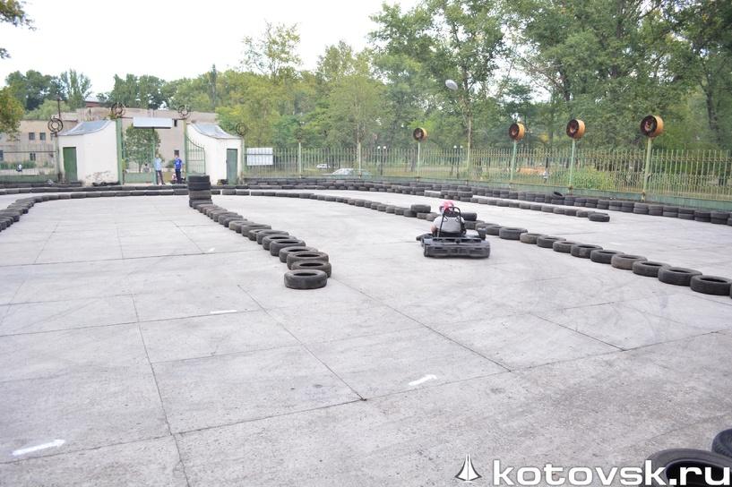 В Котовске появилась трасса для картинга