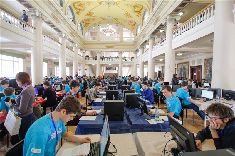 Тамбовские школьники участвуют в IT-олимпиаде