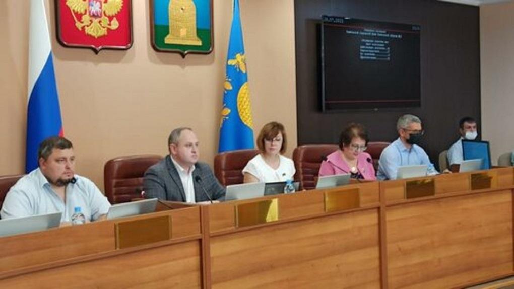 На заседании Тамбовской городской Думы утвердили новую структуру городской администрации
