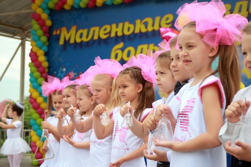 Дошколята Тамбова выступили на Площади Музыки