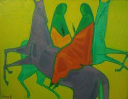 Тамбовские живописцы покажут свой взгляд на 90-е