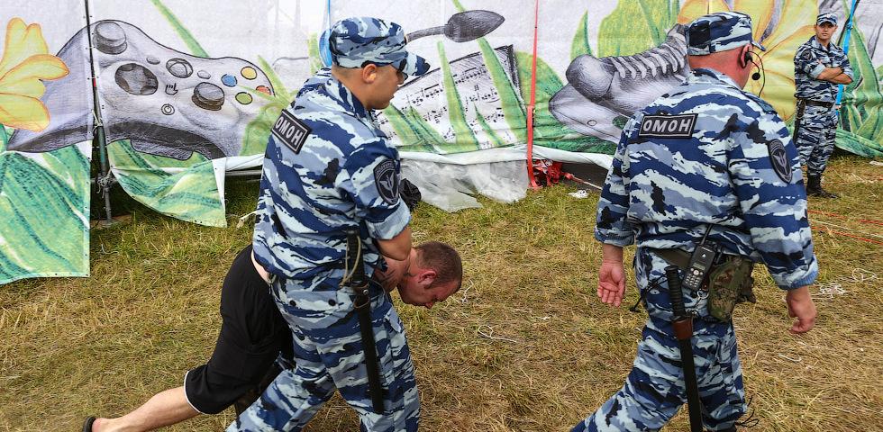 На предстоящем рок-фестивале будут дежурить более 300 полицейских