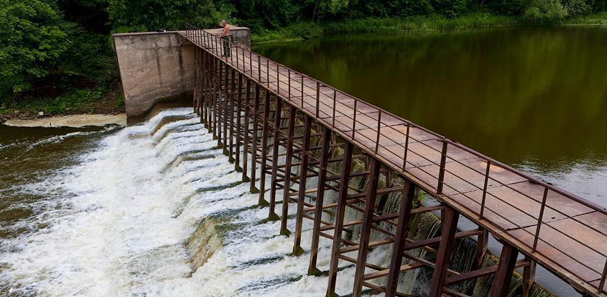 В 2017 году в регионе отремонтировали 8 плотин