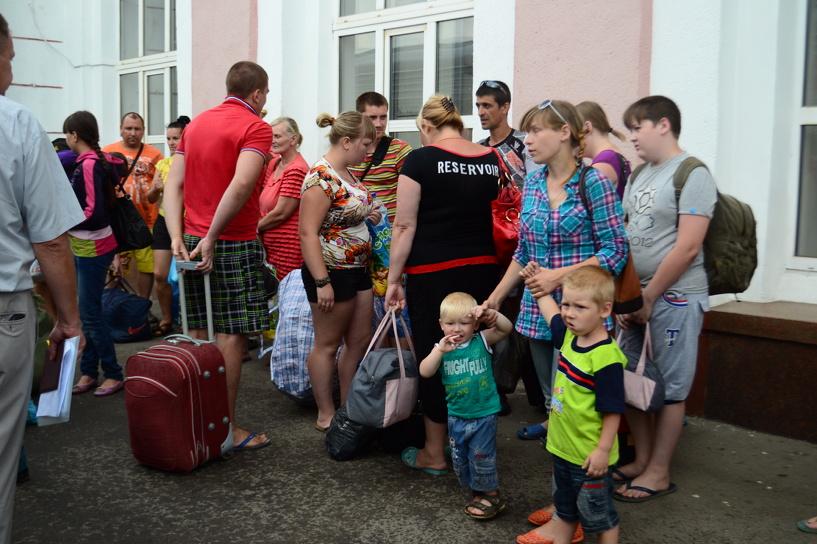 Тамбовчан просят помочь украинским беженцам с теплой одеждой