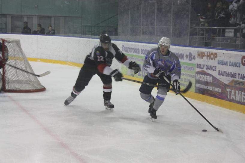 ХК «Тамбов» на выезде проиграл команде «Ямальские стерхи»
