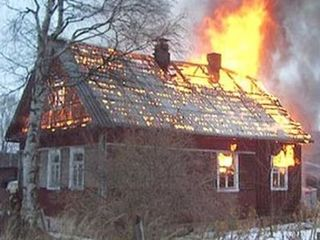 Тамбовские пожарные спасли от огня жилой дом