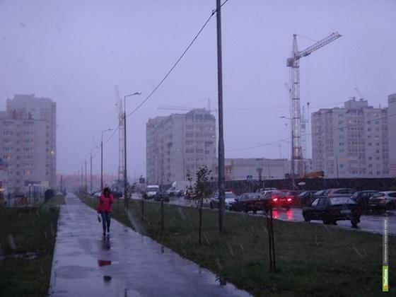 В эти выходные на Тамбовщине может выпасть снег