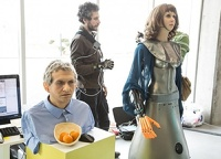 В Сколково показали роботов, способных работать без указаний
