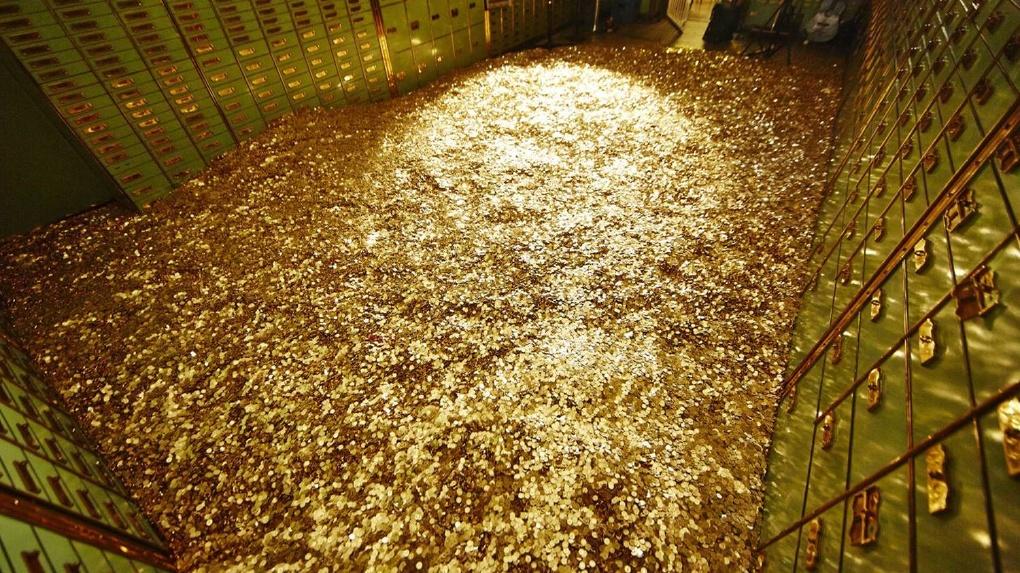 Россия стала 5-ой в мире по запасам золота