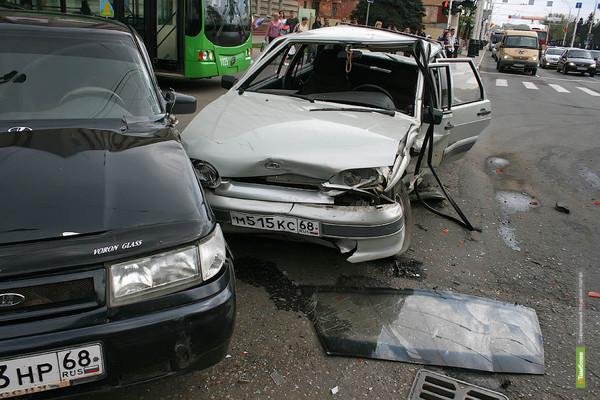 На дорогах Тамбовщины стало гибнуть больше людей