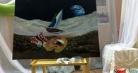 Бельгийский художник написал с тамбовчанами картину