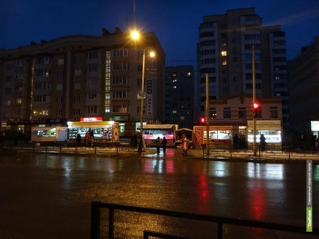 Часть тонаров и торговых павильонов могут исчезнуть с улиц Тамбова
