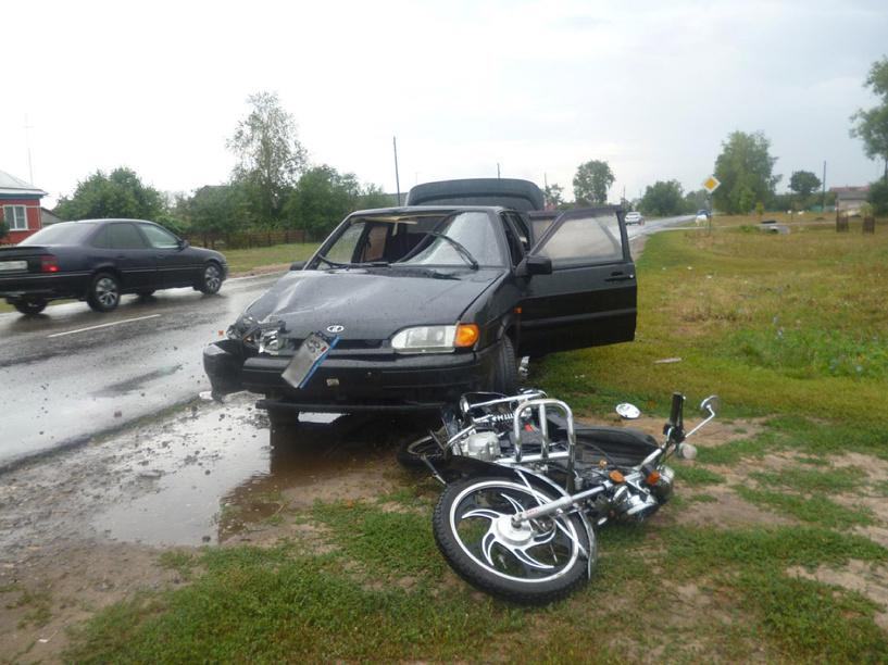 В ДТП в селе Столовое серьёзно пострадал подросток