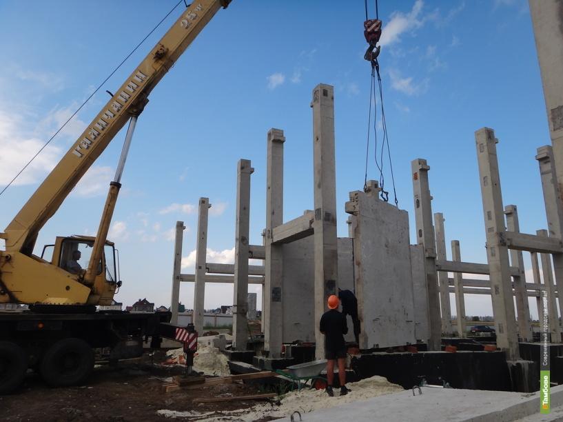 На Тамбовщине за первую треть года объём строительства вырос на 10%