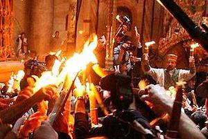 Завтра тамбовчанам раздадут Благодатный огонь