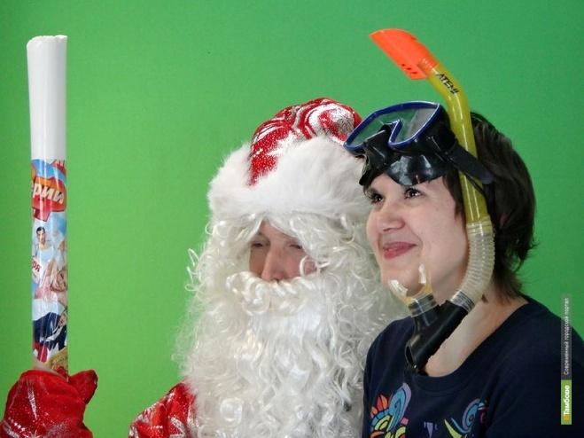 К ВТамбове наведался Дед Мороз