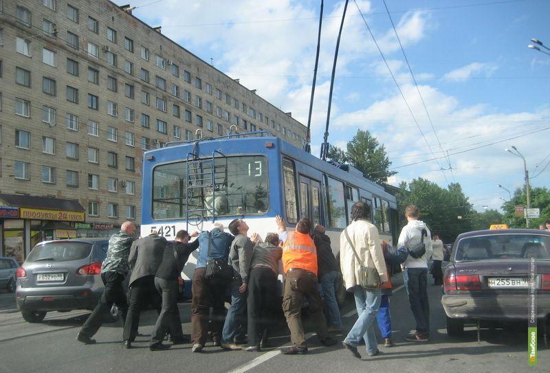 Тамбовчане за год вывели из строя 19 новых троллейбусов