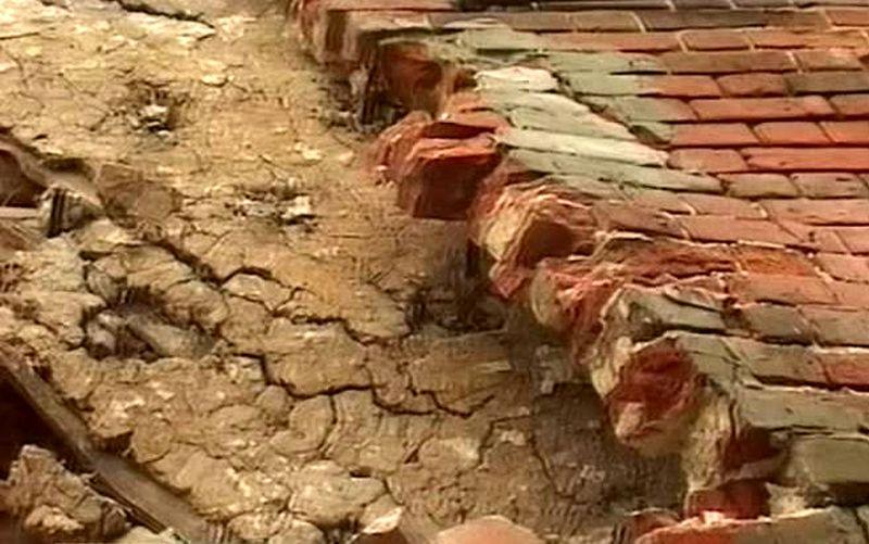 В центре Тамбова обрушилась стена жилого дома