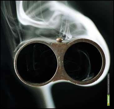 Уваровец застрелился из обреза охотничьего ружья