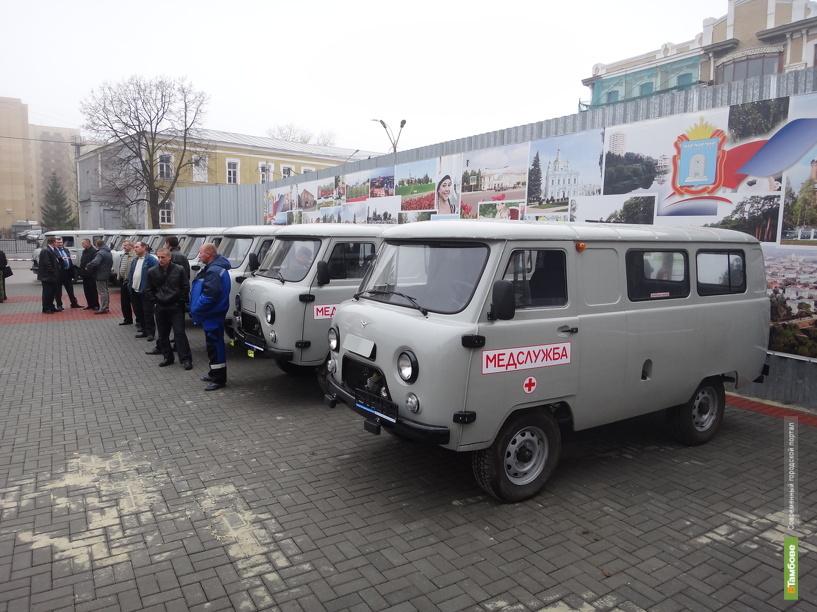 В районах Тамбовщины прибавится машин скорой помощи