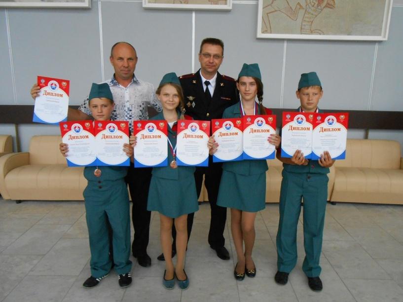 Юные тамбовские инспекторы движения заняли 3-е место на всероссийском конкурсе
