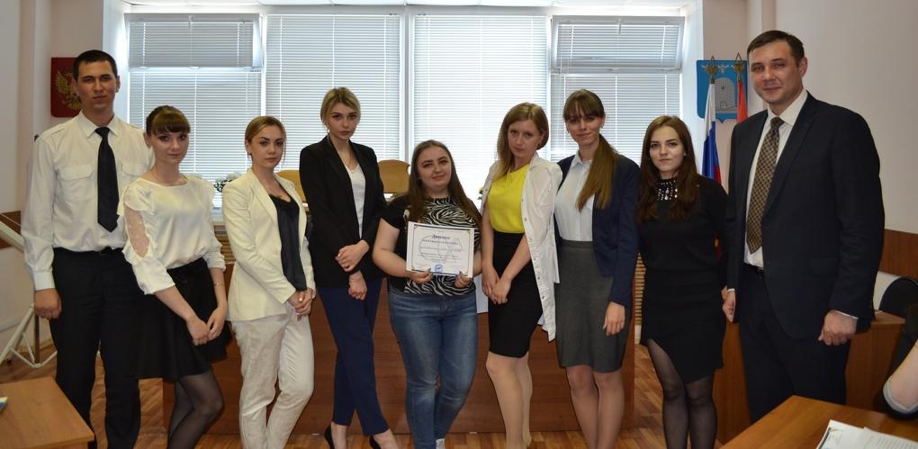 Студенты Тамбовского филиала РАНХиГС заняли второе место в деловой игре «СтудСуд»