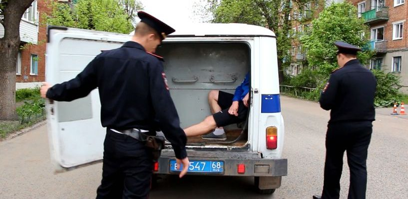 Более 600 полицейских вышли на улицы города и области в один день