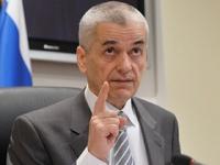 Онищенко в шутку предложили вести передачу на Первом канале