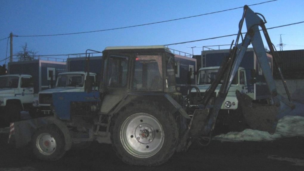 В Тамбове трактор сбил женщину: она находится в больнице