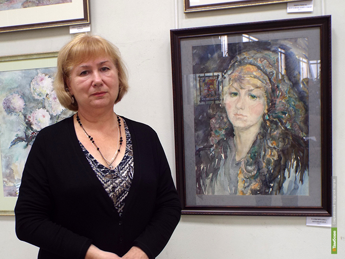 В Доме художников продолжается выставка акварели