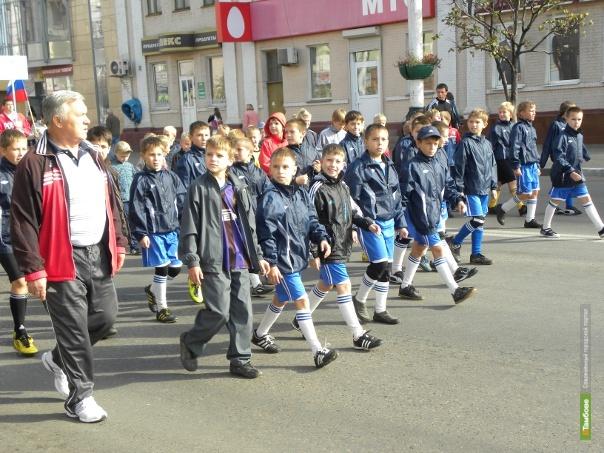 Тамбовские спортсмены пройдут с парадом по центральным улицам города
