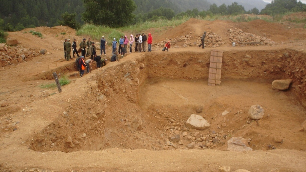 В селе Шапкино обнаружили три стоянки древних людей