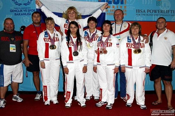 Тяжелоатлетки из Тамбова отличились на чемпионате мира в Турции