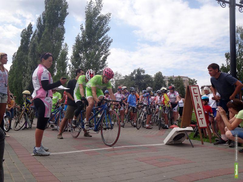 В Тамбове подвели итоги первого дня соревнований по велоспорту
