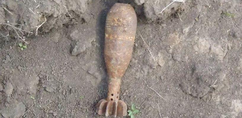 В Строителе рабочие обнаружили авиационную бомбу