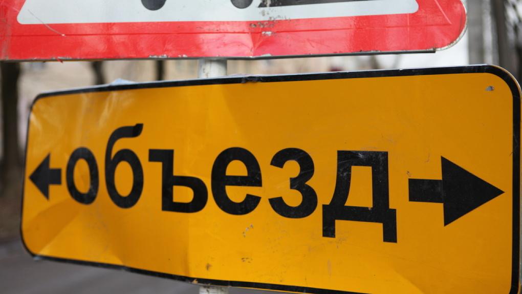 Придется потерпеть: в Тамбове до середины марта будет перекрыт участок дороги. Снова из-за коллектора