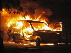 Тамбовчанин поджег два авто, одно из них — свое собственное