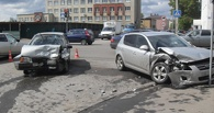 В центре Тамбова не разъехались ВАЗ и Kia