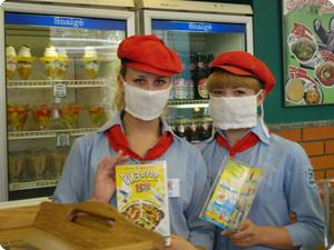 Роспотребнадзор надел на тамбовских продавцов марлевые маски