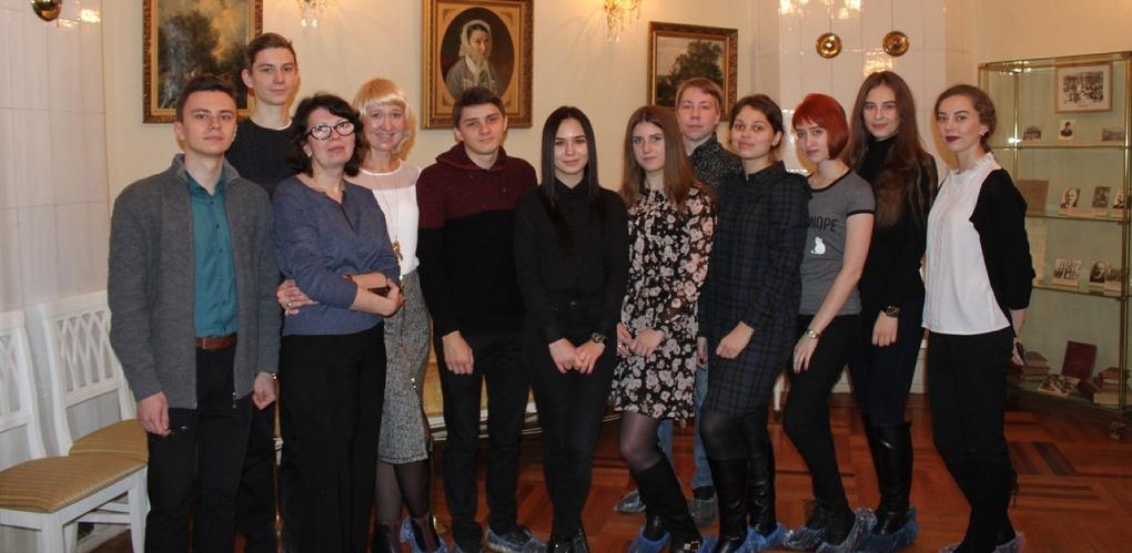 Первокурсники Тамбовского филиала РАНХиГС посетили дом-музей Чичерина