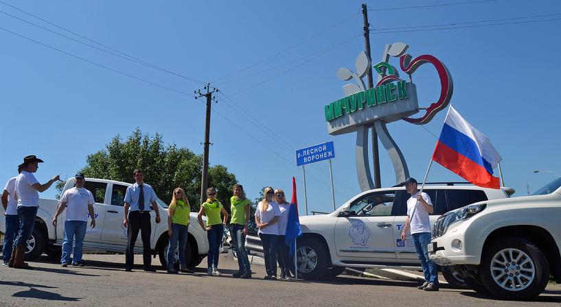 Команда ТГТУ совершила двухдневный автопробег по Тамбовщине