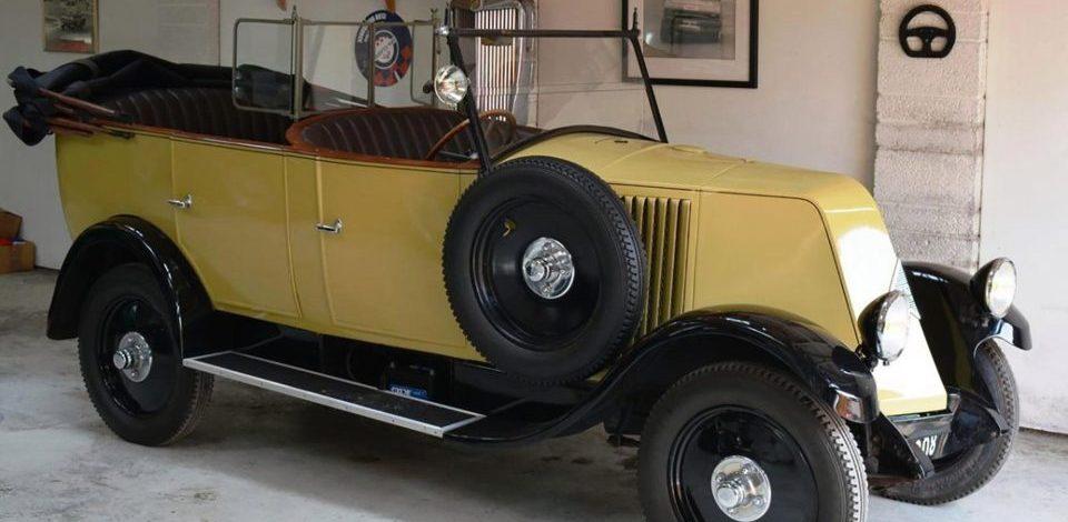 90-летний пикап Renault Индианы Джонса выставили на продажу