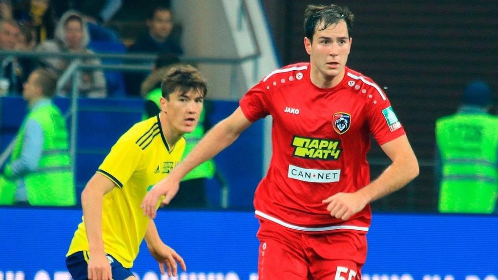 Тамбовский футболист является лидером сезона в РПЛ по перехватам