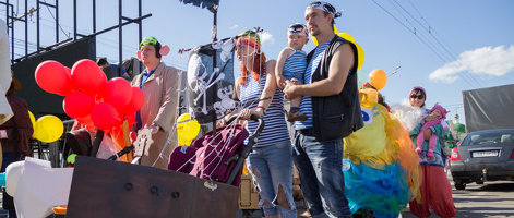 От Незнайки до викингов: Парад колясок-2016