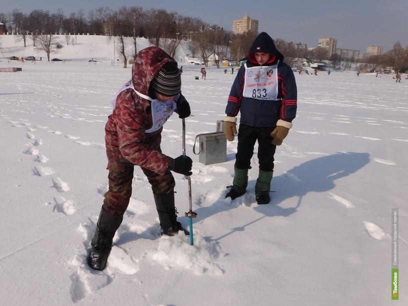 Тамбовские рыбаки посоревнуются в ловле на блесну со льда